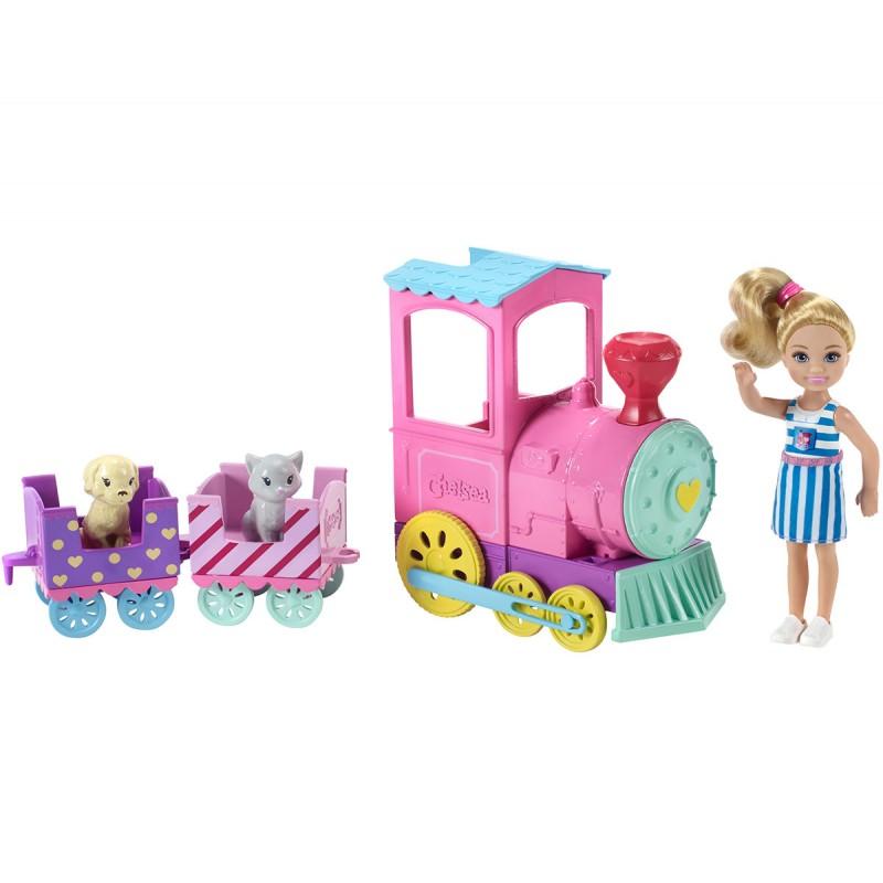 Кукла Barbie - Игрален комплект, Челси с влакче 1710080 на супер цена 39.90 лв.