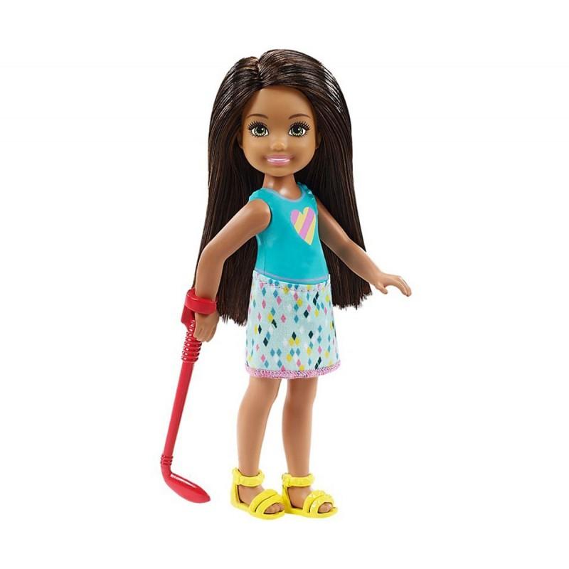 Кукла Barbie - Игрален комплект Челси мини голф 1710094 на супер цена 34.90 лв.