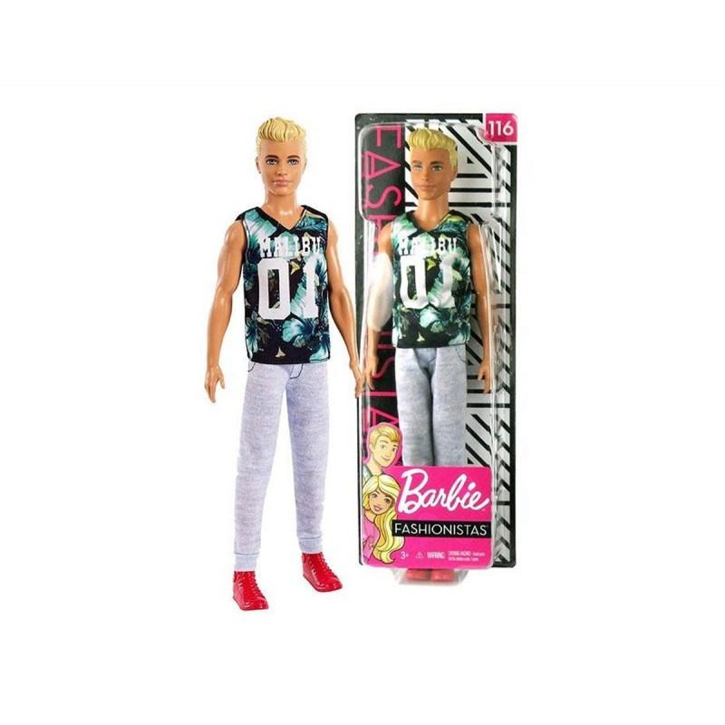 Кукла Barbie - Fashionistats, Кен, асортимент 171299 на супер цена 23.90 лв.
