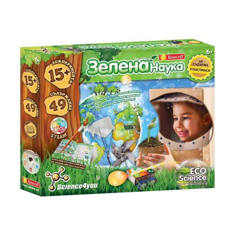 Образователна игра - Зелена наука 183010 на супер цена 29.90 лв.