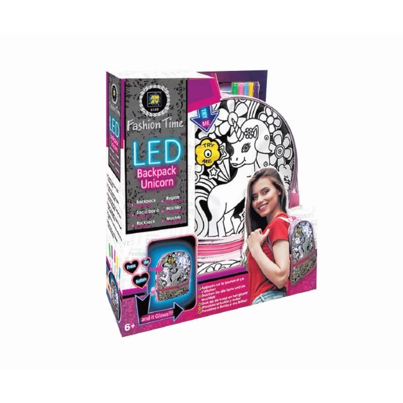 Раница за оцветяване с LED светлина 382014 на супер цена 33.90 лв.