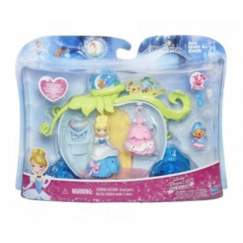 Дисни принцеси-малки кукли с аксес. игрален к-кт на супер цена 47.90 лв.