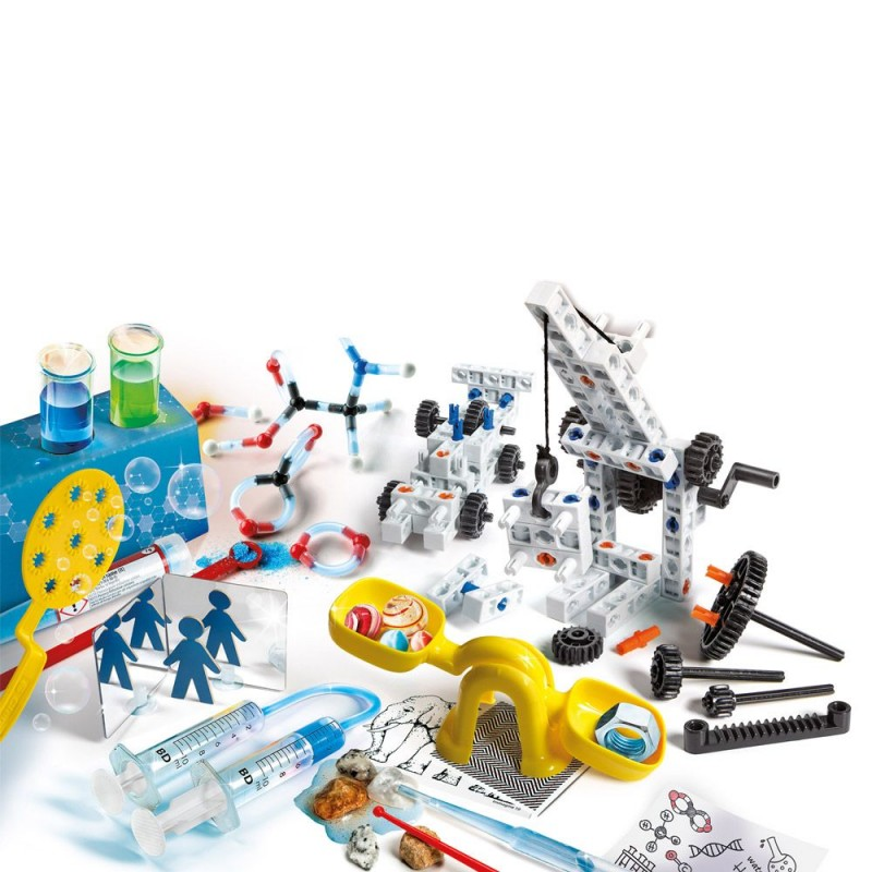 CLEMENTONI Лаборатория за физични и инженерни експерименти SCIENCE 61755 на супер цена 49.90 лв.