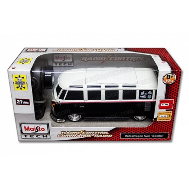 MAISTO TECH Кола Volkswagen Van Samba с дистанционно управление 81144 на супер цена 44.90 лв.
