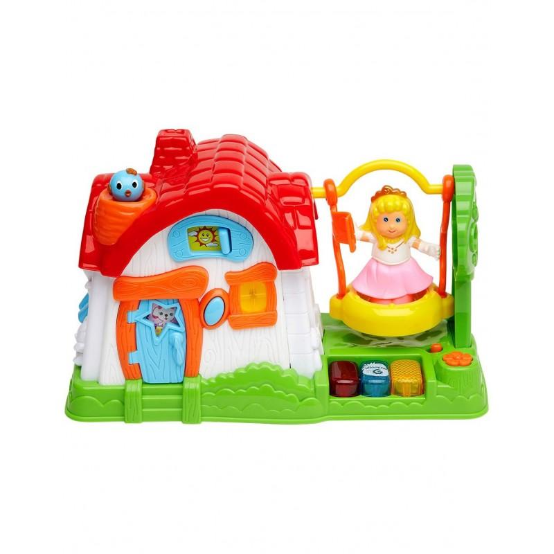 Музикална играчка - Къща на принцеса на супер цена 39.90 лв.