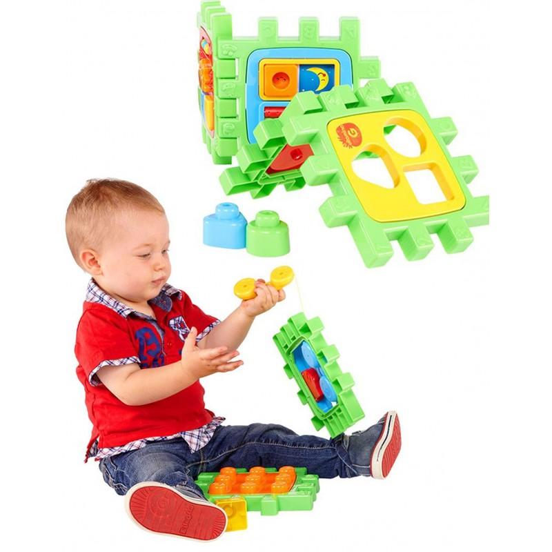 Образoвателно-музикален куб за игра 2 в 1 на супер цена 43.90 лв.