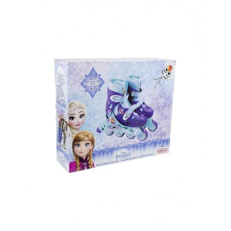 Ролери за деца 34-37 номер, Замръзналото кралство OFRO032 на супер цена 77.90 лв.