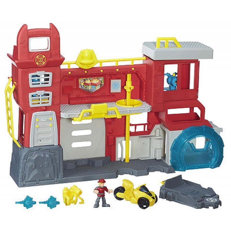 Трансформърс - Главно управление на Роботите Спасители на супер цена 121.90 лв.