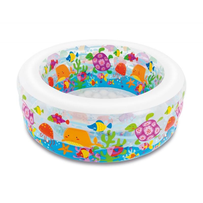 Детски надуваем басейн Аквариум INTEX Aquarium 758480 на супер цена 51.90 лв.