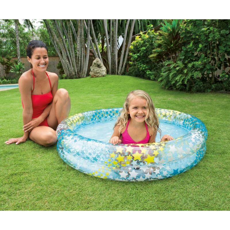 Детски надуваем басейн Звезди INTEX Fency Stars 759421 на супер цена 13.90 лв.