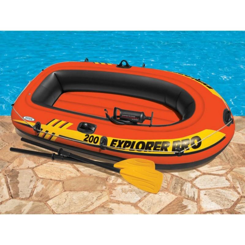 Лодка експлорър 200 /к-т сгребла и помпа/ 58357np на супер цена 71.90 лв.