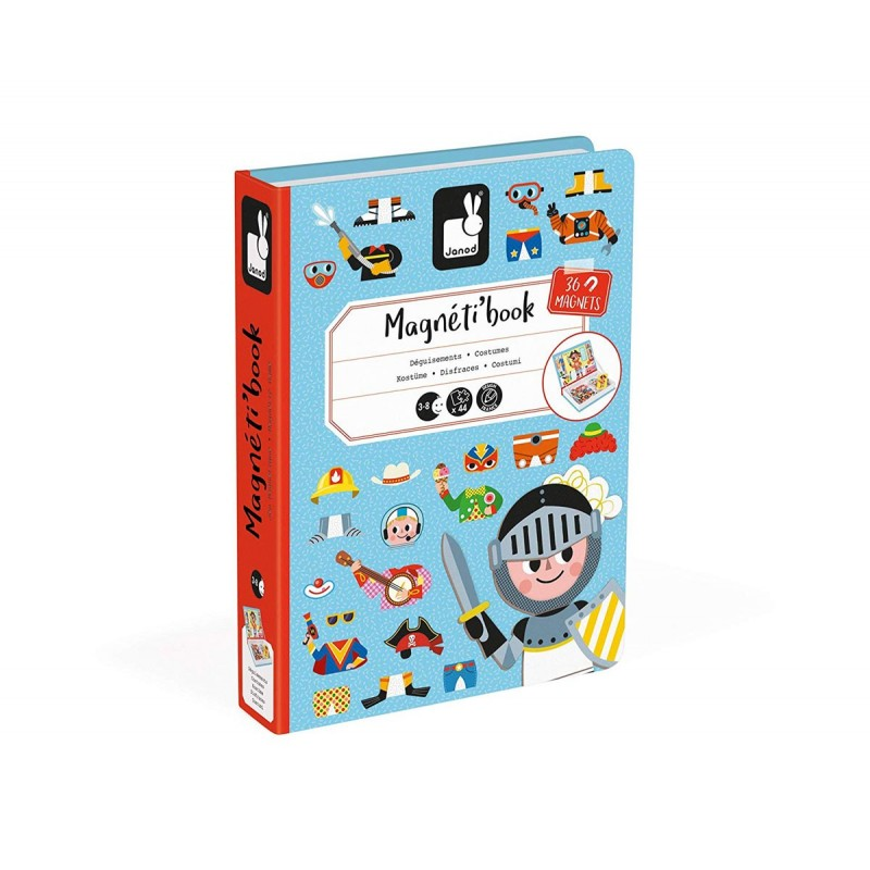 Магнитна книга – Момчета с магнитни дрехи 2719 на супер цена 32.50 лв.