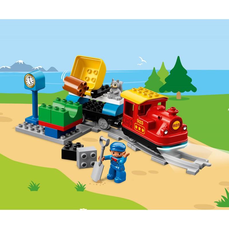 LEGO® DUPLO® 10874 - Парен влак на супер цена 139.90 лв.