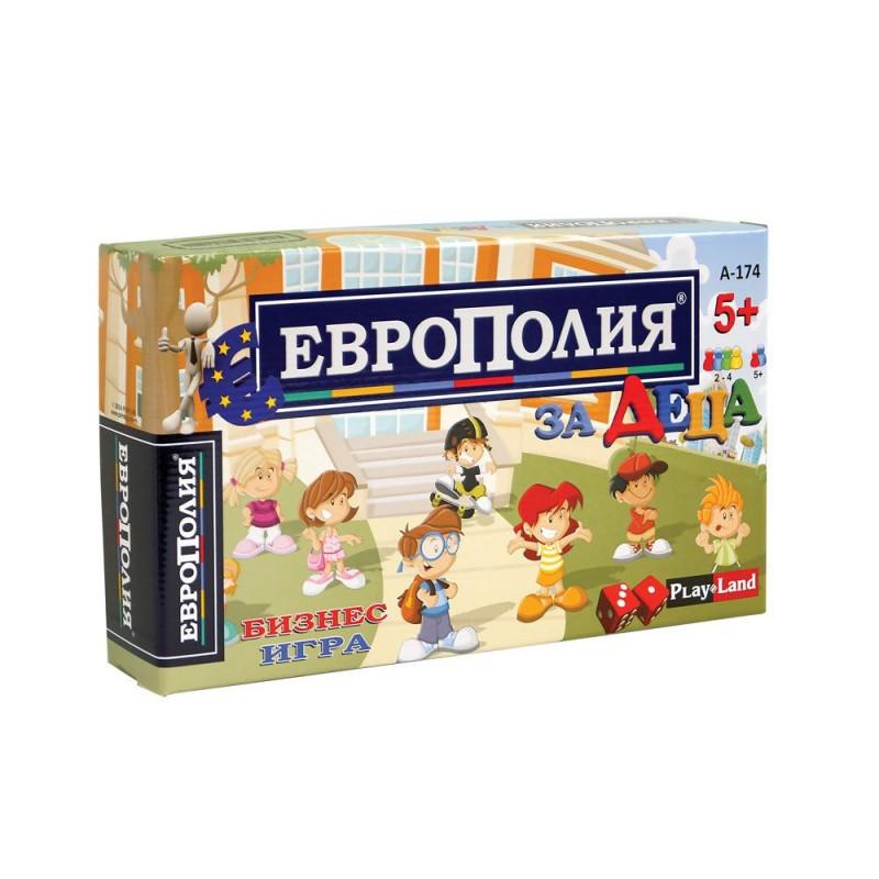 Игра Европолия за деца 405107 на супер цена 8.90 лв.