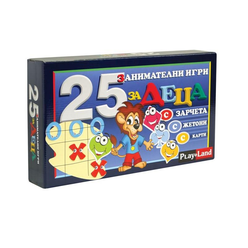 Игра Детска игра 25 в 1 407019 на супер цена 11.90 лв.