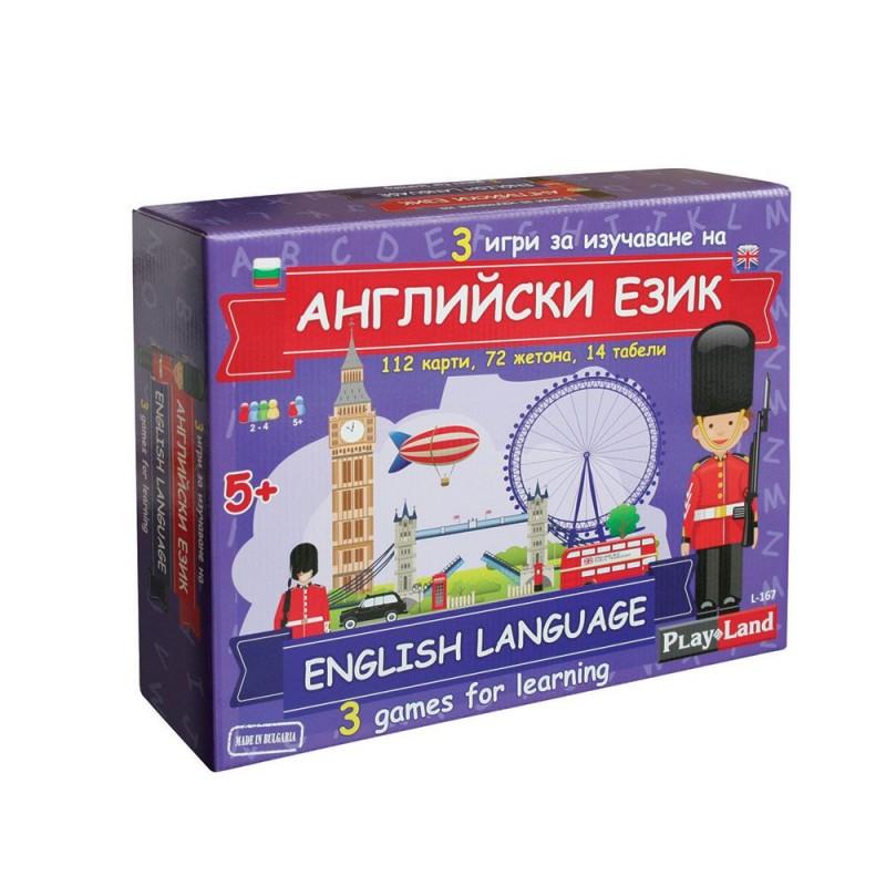 Игра АНГЛИЙСКИ ЗА ДЕЦА 3в1 407675 на супер цена 19.90 лв.