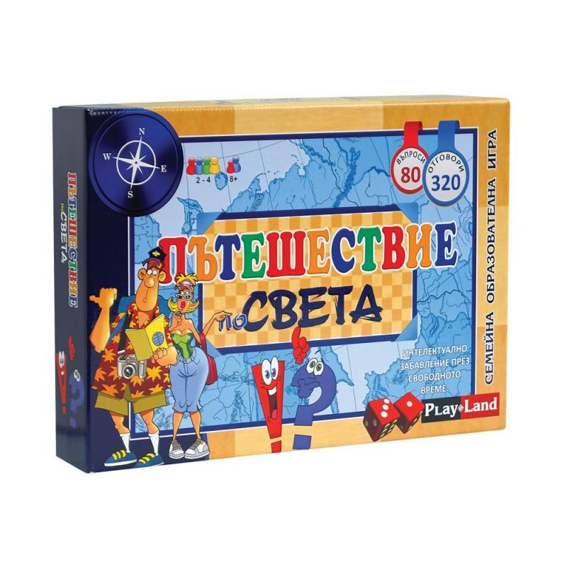 Игра Пътешествие по света 408085 на супер цена 15.90 лв.