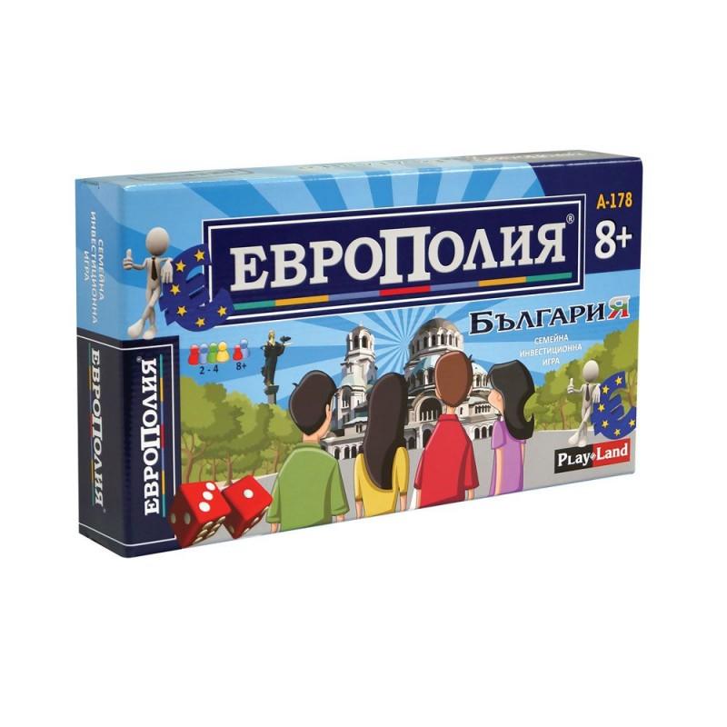Игра Европолия България 409129 на супер цена 14.90 лв.