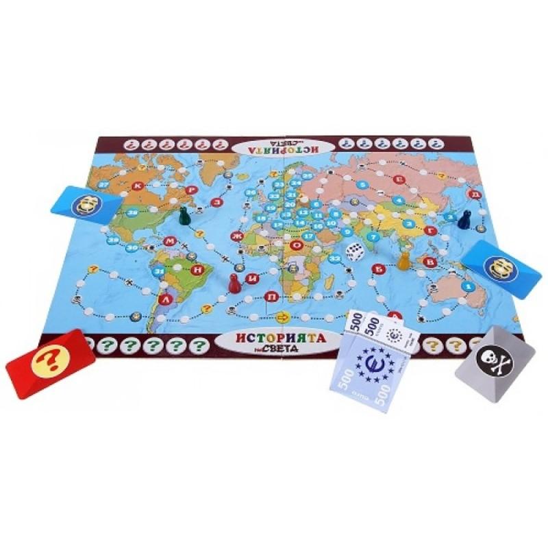 Игра История на света 410019 на супер цена 15.90 лв.
