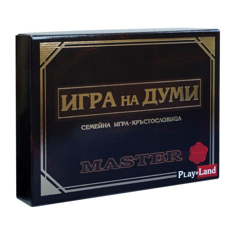 Игра на думи Master на супер цена 25.90 лв.