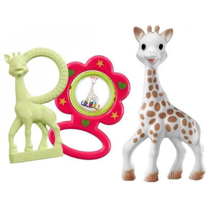 Софи жирафчето Подаръчен сет в чанта S516343 на супер цена 54.50 лв.