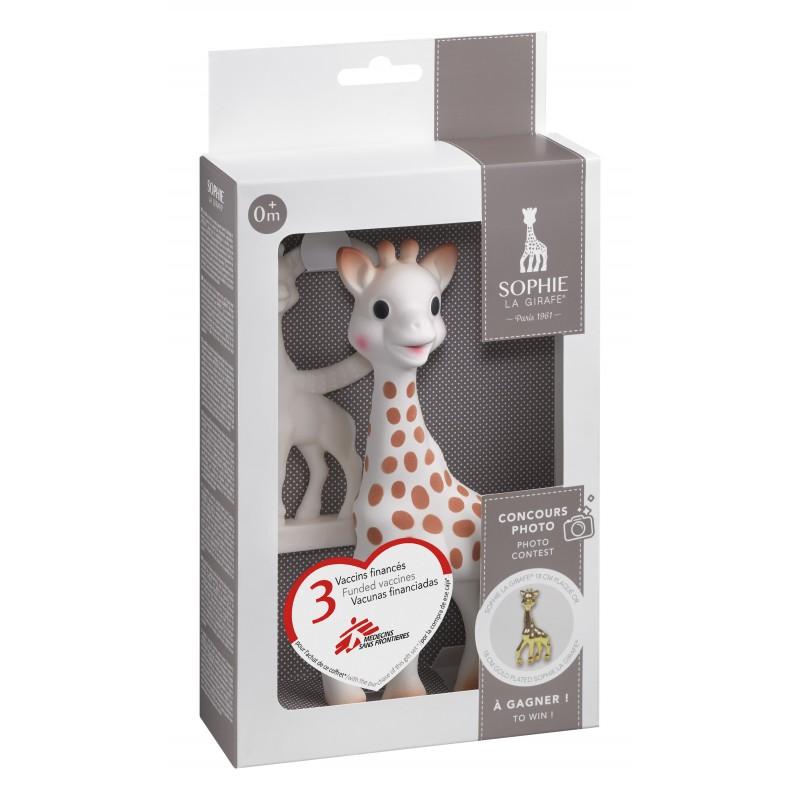 Софи жирафчето в сет с ванилена гризалка S516510 на супер цена 44.00 лв.