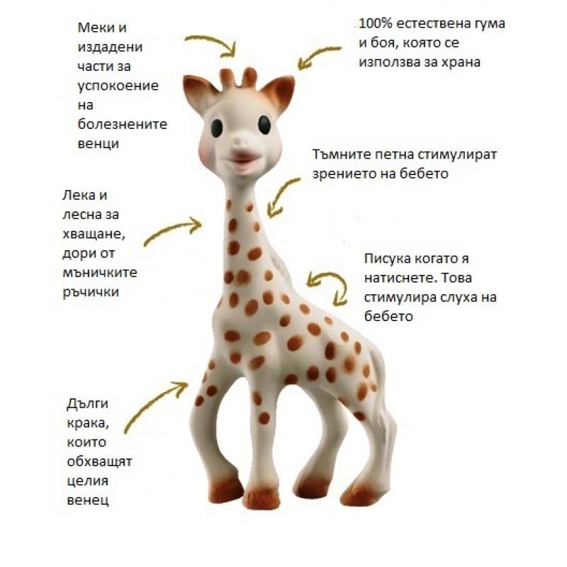 Софи жирафчето S616400 на супер цена 37.85 лв.