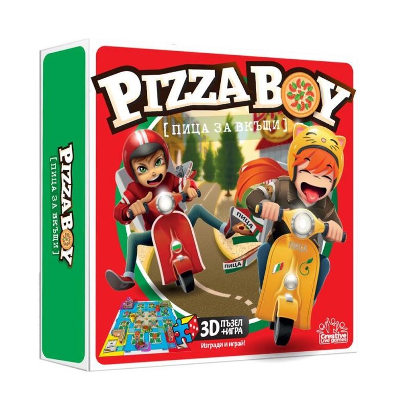 Y WOW Игра PIZZA BOY Пица за вкъщи 1900014 на супер цена 39.90 лв.