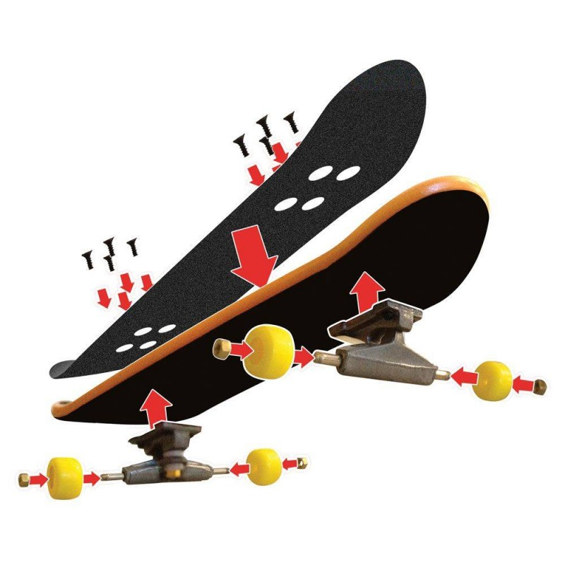 TECH DECK Мини скейтборд 6 броя SK8SHOP 6028845 на супер цена 42.90 лв.